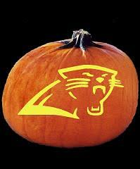 Ariel On Rock Pumpkin Carving Pattern by Spookmaster Nfl Football Carolina Panthers Pumpkin Carving Pattern