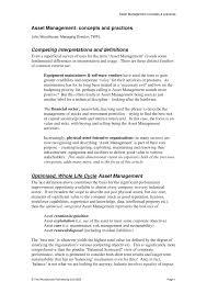 pdf asset management concepts practices