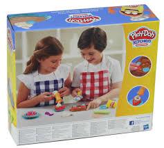 play doh knete kuchenkreation knetwerkzeug
