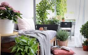 balkon gestalten ideen für möbel pflanzen deko otto