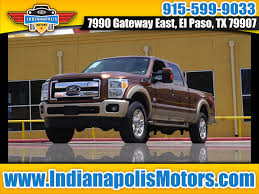100 Used Trucks Indianapolis Cars El Paso TX Cars TX Motors