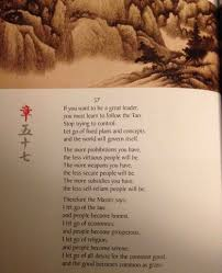 From Tao Te Ching Written over 2 500 years ago Anarcho Capitalism