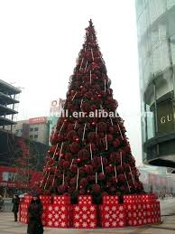 Outdoor Artificial Christmas Trees Led Lights Image Of Rustic Tree Large Decor 4