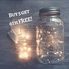 Mason Jar Fairy Lights DIY Lanterns Centerpieces Rustic