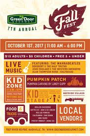 Pumpkin Patch Farms Nashville Tn by Fall Fest 2017 In Nashville At Green Door Gourmet