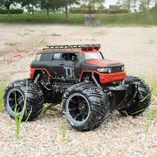 Big Foot 1:16 Remote Control Monster Truck 2.4G Off Road Realistic ... 112 Amphibious 24g Climbing Big Wheel Truck Military Vthunder Pickup Remote Control 114 Size Scale Lights And Amazoncom New Bright 61030g 96v Monster Jam Grave Digger Rc Car Case Maxxum Red Tractor Whitch Rock Crawlers Best Trail Trucks That Distroy The Competion 2018 Large Big Racer Vintage Buggy Old As Is Velocity Toys Graffiti Toyota Fj Cruiser 64v Trailer Rig Carrier 18 Wheeler Landking Radio Off Road Racing Choice Products 12v Ride On Semi Kids