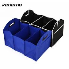 Auto Care Car Trunk Storage Bag Oxford Cloth Folding Truck Storage ...
