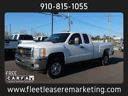 100 Chevrolet Truck History 2012 Used Silverado 2500HD Extended Cab Long Bed At Fleet