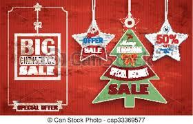 Vintage Price Stickers Christmas Tree 2 Stars