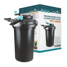 Uv Sterilizer Cabinet Uk by Pond Filter With 18w Uv Pfc 20000 Allpondsolutions