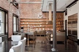 cuisine loft cuisine en bois loft photos de design d intérieur et décoration de