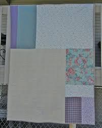 Pieced quilt back Make do Quilts