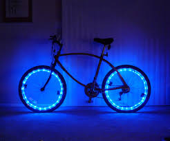 Bicycle Rim Lights 5 Steps with