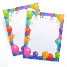 Amazoncom Gartner Studios 13630 Printer Paper Falling Balloons 85