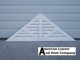 Decorative Gable Vents Products by Photo Gallery American Louver And Vent Company