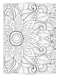 Detailed Colouring In Free Coloring Pages For Adults Flowers