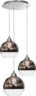 licht erlebnisse pendelleuchte globe moderne deckenle kupfer glas glänzend wohnzimmer le kaufen otto
