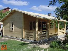 chalet maison en kit chalet bois en kit rennes 56 m2 avec terrasse couverte