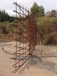 100 Enric Miralles Architect Igualada Cemetery Rebar Entrance Gate Carme