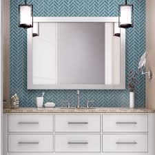 Color Tile Medford Oregon by Elevate An All White Bathroom With A Contrasting Sea Blue Ceramic