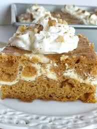 Best Pumpkin Desserts 2017 by Cheesecake Swirl Pumpkin Cake Together As Family