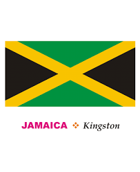 Jamaica Flag Coloring Pages