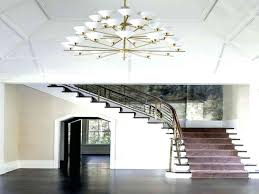 Chandeliers For High Ceiling Dining Room Contemporary With Chandelier In New 8 Best Amp Flush Mounts