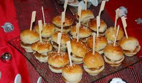 hervé cuisine pate a choux mini burger au foie gras maman ça déborde
