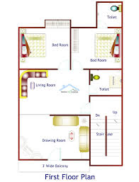 Make My House Duplex House Plan 26 Ft X 50 Ft My Plan st