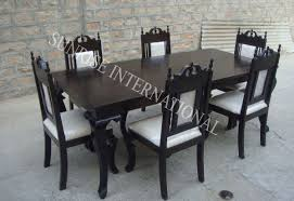 Dining Table Set - Buy Wooden Dining Table Set Online In ... British Colonial Style Patio Outdoor Ding American Fniture 16201730 The Sevehcentury And More Click Shabby Chic Ding Room Table Farmhouse From Khmer To Showcasing Rural Cambodia Styles At Chairs Uhuru Fniture Colctibles Sold 13751 Shaker Maple Set Hardinge In Queen Anne Style Fniture Wikipedia Daniel Romualdez Makes Fantasy Reality This 1920s Spanish Neutral Patio With Angloindian Teakwood Console Outdoor In A Classic British Colonial