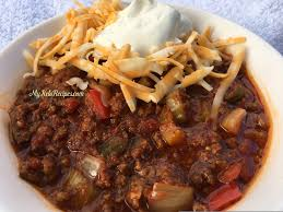Time Of Year When Its Cold Outside And You Need Something Hearty Filling To Warm Up Traditionally Chili Is High In Carbs Because The Beans