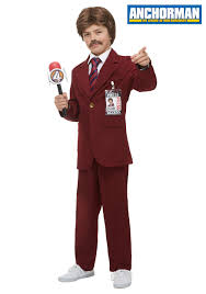 Anchorman I Love Lamp Shirt by Anchorman Ron Burgundy Costume For Kids