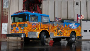 100 Blue Fire Trucks Boise Fighters And Broncos TeamUp TAILGAITING Football Food