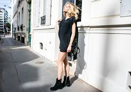 How To Wear A Little Black Dress With Urban Chic Style