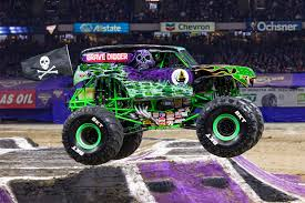 100 Monster Truck Oakland Here Are The Trucks Competing In This Weekends Jam