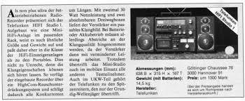telefunken hifi studio 1 the boombox wiki
