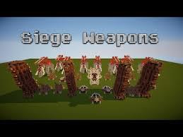 siege minecraft lotr siege weapons minecraft project