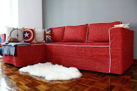 Ikea Manstad Sofa Bed Cover by Furniture Sofa Arm Covers Slipcover Sectional Sofa With Chaise