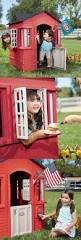 Step2 Happy Home Cottage U0026 by Permanent Playhouses 145995 New Step2 Happy Home Cottage And