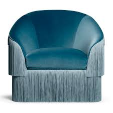 Cb2 Julius Sleeper Sofa by If There U0027s Such Thing Like Blue Clouds Fringes Armchair By