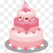 Pink cake vector Cake Vector Cake Pink Cake PNG and Vector