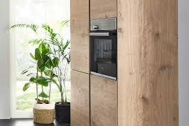 manhattan küchenfront in holz optik nolte kuechen