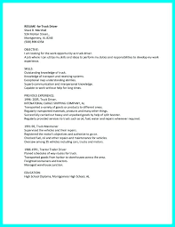 Cdl Truck Driver Resume Driving Lovely New Sample Of Beautiful