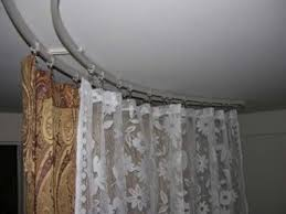 curtain rods that attach to ceiling eyelet curtain curtain ideas