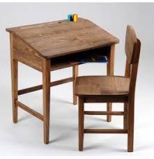 bureau ecolier en bois pupitre bois enfant bureau rangement enfant
