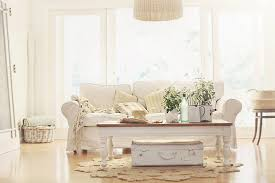 Cottage Style Couches Beach Sofa White With Pillows Table Car In The Room Hi