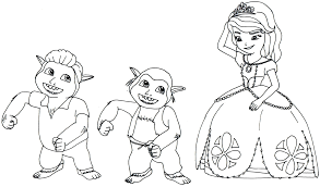34 Sofia The First Coloring Pages