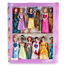 Disney Princess Classic Doll Collection Gift Set One Day Kids