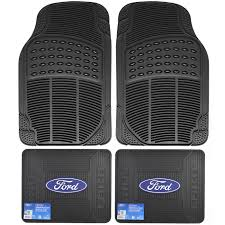 100 Ford Truck Mats Front Rear Car All Weather Rubber Floor Set FORD Elite