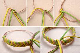 How To Make A Single Braided Charm Bracelet Out Of Suede Cord 4